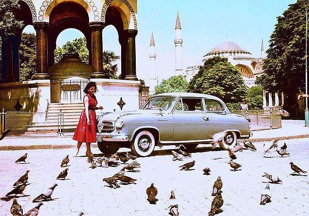 6. Sultanahmet Meydanı, İstanbul, 1950.