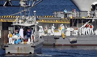 Japonya'da 3.500 Kişinin Bulunduğu Dev Yolcu Gemisi Karantinaya Alınmıştı: 10 Kişide Koronavirüs Saptandı