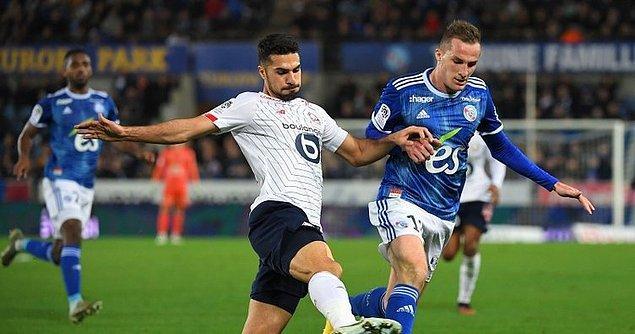 Fransa Ligue 1'in 22. hafta mücadelesinde Lille, Strasbourg'u deplasmanda 2-1 yendi. Milli futbolcumuz Zeki Çelik 90 dakika sahada kaldı.