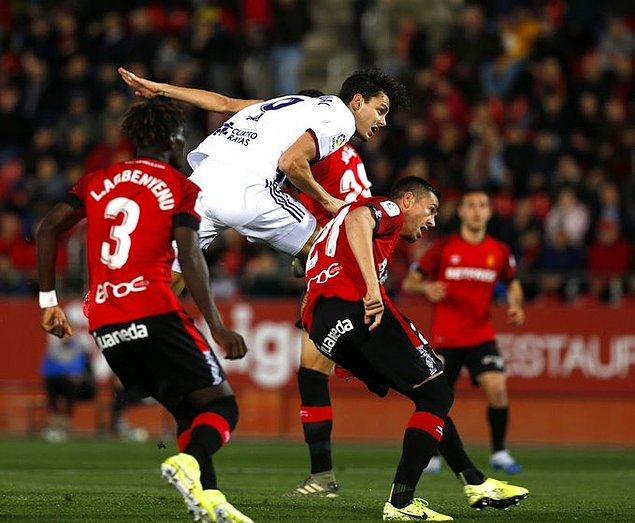 İspanya La Liga'nın 22'nci haftasında Valladolid, deplasmanda Mallarco'yu milli futbolcumuz Enes Ünal'ın 56'ncı dakikada attığı golle 1-0 mağlup etti.