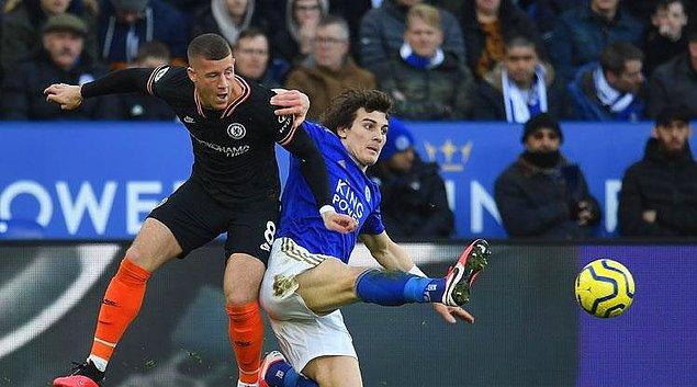 İngiltere Premier Lig'de Leicester City, konuk ettiği Chelsea ile 2-2 berabere kaldı. Milli oyuncumuz Çağlar Söyüncü, karşılaşmada 90 dakika forma giydi.