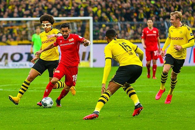 Borussia Dortmund, Bundesliga'nın 20. haftasında evinde Union Berlin ile karşılaştığı maçta rakibini 5-0 mağlup etti. Yunus Mallı 59 dakika sahada kaldı.