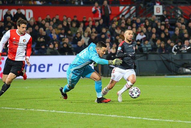 Devre arasında FC Emmen'e kiralanan Kerim Frei ise 90 dakika sahada kaldı.