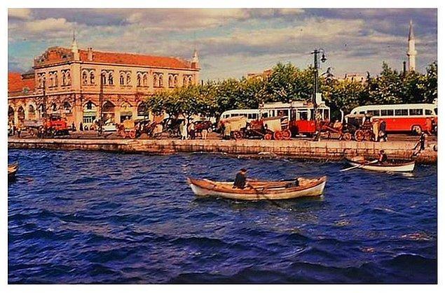 11. Kadıköy sahili, İstanbul, 1960.