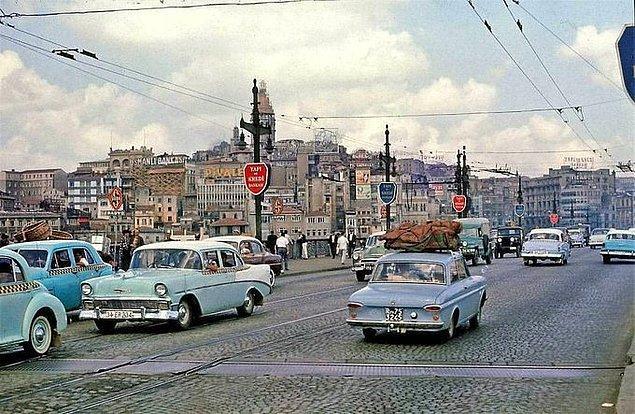 15. Galata Köprüsü, İstanbul, 1966.