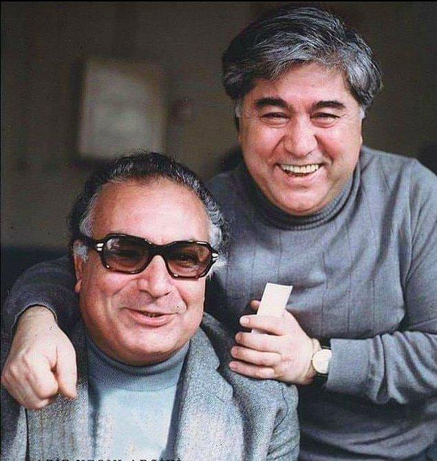 17. Yaşar Kemal ve Aziz Nesin, Ankara, 1967.
