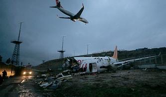 Sabiha Gökçen'de Pistten Çıkan Uçak Üç Parçaya Ayrıldı: Üç Can Kaybı ve 180 Yaralı Var