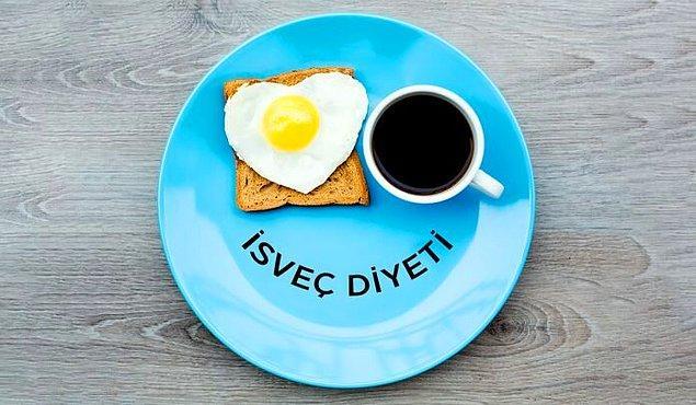 İsveç diyeti, birçok kişi tarafından tercih edilen ve kişilerin diyetin ardından hızla kilo verdiği bir diyettir.