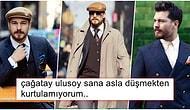 Erkekler Nasıl mı Giyinsin İşte Böyle! Çağatay Ulusoy'un Hello Dergisi İçin Verdiği Pozlar Ortalığı Yaktı Geçti