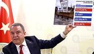 Muhittin Böcek: 'Antalya'da 53 Liralık Dubalara 1.050, 9 Bin Liralık Arı Heykellerine 80 Bin TL Ödenmiş'