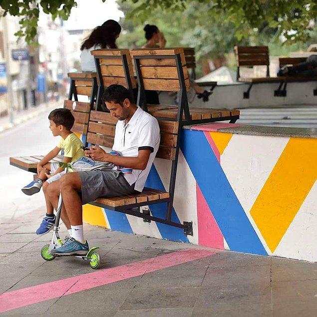 Kent mobilyalarına Kadıköy Boğa'da rastlayabilirsiniz.