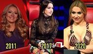 Hadise 10 Yıllık O Ses Türkiye Jüriliğinde Her Sezon Başka Bir İmajla İzleyici Karşısına Çıkarak Büyüledi!