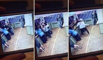 Başka Bir Kadınla Yakaladığı Kocasını Önce Kafa Atarak Ardından ise Dinlene Dinlene Döven Kadın!