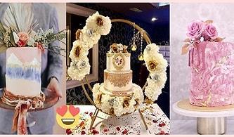 En Özel Gününde Pastasını Konuşturmak İsteyene 50 Nişan ve Düğün Pastası Modeli