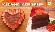 Çilek ve Kakao İkilisinin En Lezzetli Hali: Kakaolu Kalp Pasta Nasıl Yapılır?