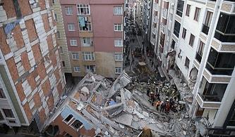 İstanbul 7 Katlı Bina Çöktü: Çevresindeki 5 Bina Tedbir Amacıyla Boşaltıldı