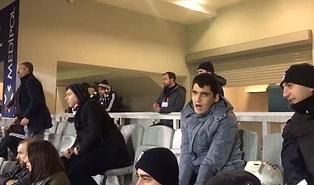 Görme Engelli Ömer Aydın'a Başakşehir-Beşiktaş Maçını Anlatan Polis Memuru