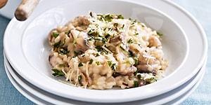Mantarlı Risotto Tarifi: İtalyan Mutfağının Meşhur Lezzetlerinden Mantarlı Risotto Nasıl Yapılır?