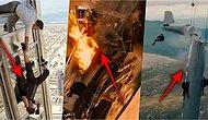 Oyuncuların ve Dublörlerin Gözlerini Karartıp Sinema Tarihinin En Tehlikeli Anlarına İmza Attığı Film Sahneleri