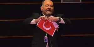 Avrupa Parlamentosu'nda Türk Bayrağını Yırtmıştı: İoannis Lagos'dan Türk Belediye Başkanlarına Suç Duyurusu