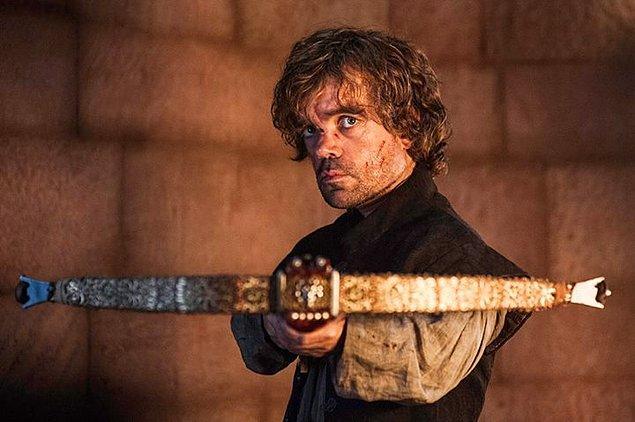 11. Tyrion Lannister, GOT'un en zeki adamıydı. Eğlenmeyi bilen, vicdanlı, güçlü ve sürprizlerle dolu bir adam. Sizin için her şeyi feda edebileceğine ve asla sıkılmayacağınıza eminiz.