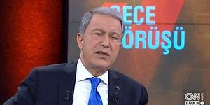 Hulusi Akar: 'Mehmetçiğin Can Güvenliği İçin Bütün Tedbirler Alındı'