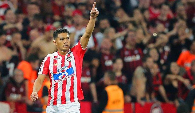 12. Teófilo Gutiérrez / Junior FC