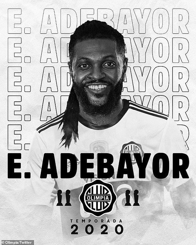 35. Emmanuel Adebayor / Olimpia
