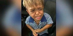 Zorbalığa Maruz Kaldığı İçin Ölmek İstediğini Dile Getiren 9 Yaşındaki Çocuğun Yürek Burkan Anları!