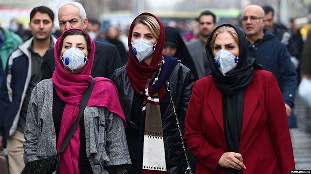 İran'da vaka sayısının 28'e ve ölü sayısının da 5'e yükseldiği açıklanmıştı.