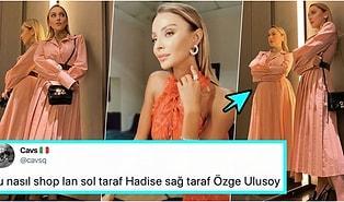 Hadise'nin Aynadan ve Yandan Bambaşka Kişilere Benzeyen Talihsiz Photoshop Deneyimi Apışıp Kalmamıza Sebep Oldu