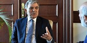 Abdullah Gül Gezi ile İlgili Söylediği Sözlerin Çarpıtıldığını Söyledi: 'Ayıp ve Çirkinlik Olarak Görüyorum'