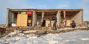 İran Depremi Başkale'yi Vurdu: Özpınar Köyü'nde Sağlam Tek Bir Ev Dâhi Kalmadı