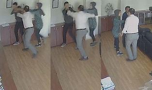Kızıyla Tartışan Öğrencinin Burnunu Kırdı: Velinin Müdür Odasındaki Saldırısı Kamerada