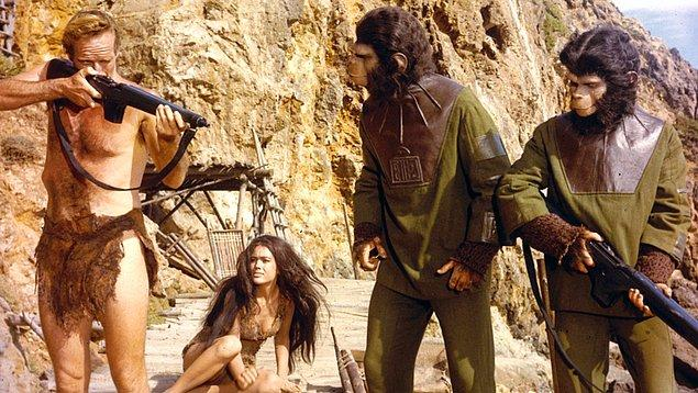 13. Maymunlar Cehennemi (1968) Planet of the Apes
