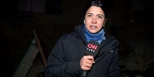 İran'da Meydana Gelen Depremi Van'da Canlı Yayında Hisseden CNN Türk Muhabiri ve Kameramanı!