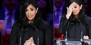 Kobe Bryant ve Kızı Gigi İçin Düzenlenen Anma Gecesinde Gözyaşları Sel Oldu Aktı!