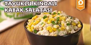 Doyurucu ve Lezzetli: Tavuklu Kinoalı Kabak Salatası Nasıl Yapılır?