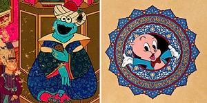 Osmanlı'da Bir Kurabiye Canavarı! Minyatür Sanatını Hollywood'a Taşıyan Murat Palta'nın Yaratıcılık Kokan Çizimleri