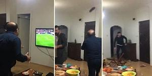 Fenerbahçe-Galatasaray Maçında Sevinçlerini Doruklarda Yaşayan Taraftarlardan Muhteşem Görüntüler!
