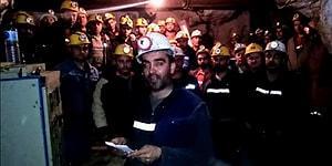 Aylardır Maaş Alamayan Madenciler Kendilerini Ocağa Kapatıp Açlık Grevi Başlattı