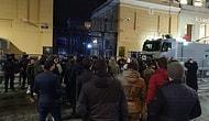 Rusya İstanbul Başkonsolosluğu Önünde Protesto: 'Katil Rusya, Katil Putin'