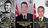 İdlib'deki Saldırıda Şehit Olan Tekirdağlı 3 Şehidimiz; Recep Bekir, Nihat Kara ve Birhan Er'in Acı Haberleri Tekirdağ'a Ulaştı