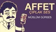 Koff Animasyon'dan Müslüm Gürses Animasyonu: Müslüm Baba, Çıplak Sesi ile Affet Söylüyor!