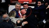 CHP'li Özkoç'a Yumruk Atan AKP'li Vekilin Eli Kırıldı