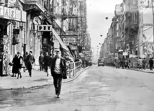 3. İstiklal Caddesi, İstanbul, 1970.