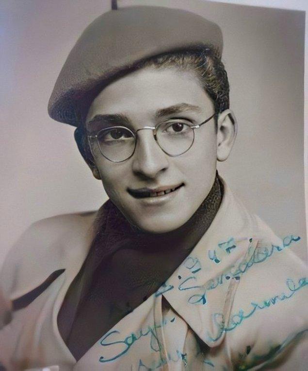 4. Zeki Müren, Bursa, 1947.