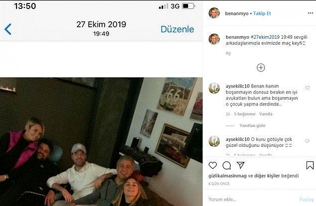Ece Erken'in bu tavırları, sevgilisinin eşi Benan Mahmutyazıcıoğlu'nu da sinirlendirmişti.