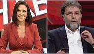 """Ece Üner, Ahmet Hakan'ın """"Namaz 5 Vakit, Ahlak 24 Saat Farz"""" Sözlerine Verdiği Tepkiyi Havada Yakalayıp Gelişine Vurdu!"""