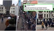 Hollanda Hükûmeti Korona Nedeniyle Kahvecileri Kapatma Kararı Alınca Esrar Stoğu Yapmak İsteyenler Uzun Kuyruklar Oluşturdu